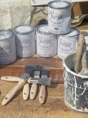 Kategorie-Vintage Paint