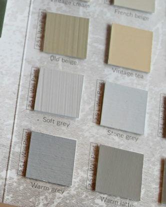 Kalkfarbe Wand 2.5l